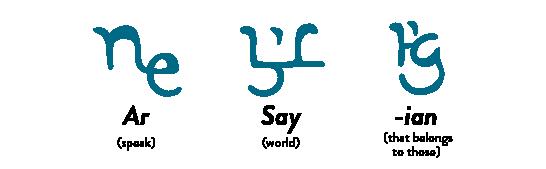 Arsayian Significado